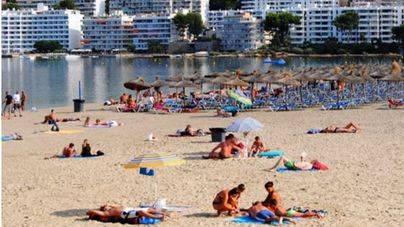 Es una de las playas más concurridas