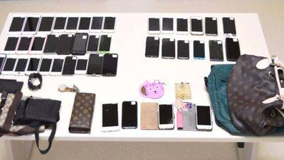 Detenido por robar smartphones a turistas en la playa de Palmanova