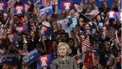 Hillary Clinton es la primera mujer que opta a la Casa Blanca