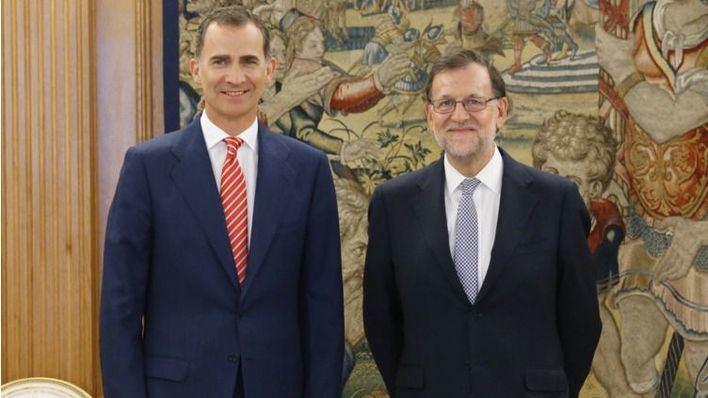 Rajoy acepta el encargo de formar Gobierno