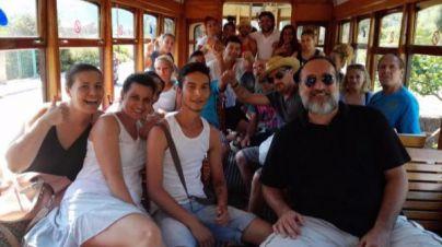 El Ferrocarril de Sóller colabora con personas en exclusión social