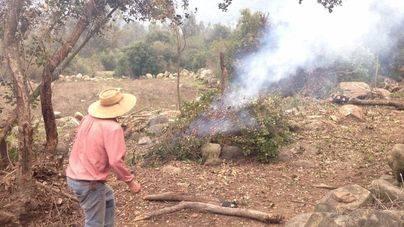 Prohibidas las quemas controladas de este sábado por alto riesgo de incendio