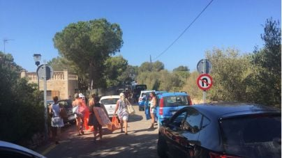 Santanyí comprará terrenos para solucionar el problema de aparcamiento en Cala S'Almonia