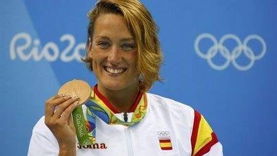 Mireia Belmonte inaugura el medallero español con el bronce en 400 estilos