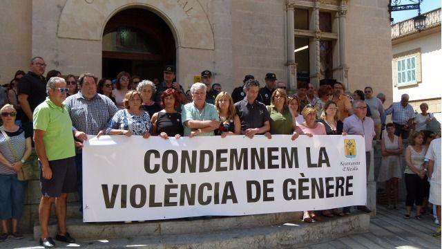 Una de las protestas que se realizaron cuando fue agredida en el mes de junio