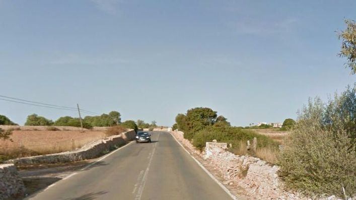 Carretera de Ses Salines a la Colònia de Sant Jordi
