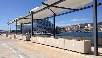 Nuevas marquesinas de la Estación Marítima de Palma