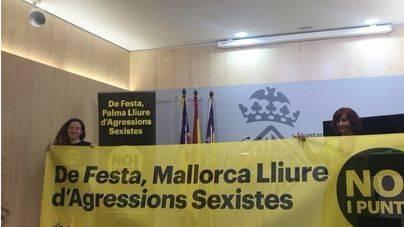 Todos los pueblos de Mallorca colgarán una pancarta antisexista en sus fiestas