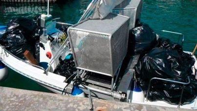 La basura del litoral balear aumenta 2 toneladas en julio