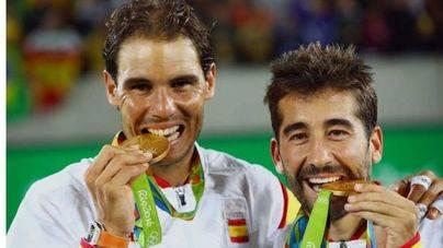 Nadal y López conquistan el oro
