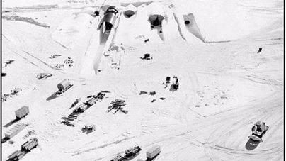 El deshielo puede dejar al descubierto una base USA de la Guerra Fría
