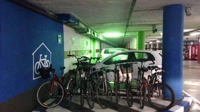 Las bicicletas ya tienen 162 plazas en los aparcamientos municipales