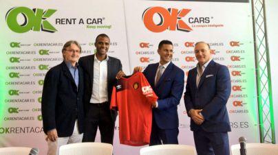 OK Group lucirá en la manga de la camiseta del Mallorca