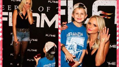 Un niño pide matrimonio a Miranda Lambert