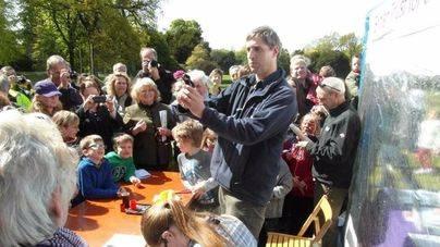 Feria internacional de aves en Inglaterra