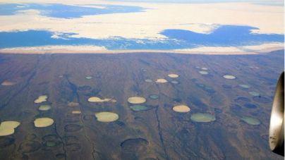 Queda demostrada la liberación de metano por deshielo