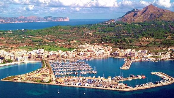Planta hotelera del Port d'Alcúdia