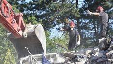 Un nuevo temblor en Amatrice provoca m�s derrumbes