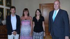 Armengol recibe a la asociaci�n de instalaciones n�utico-deportivas