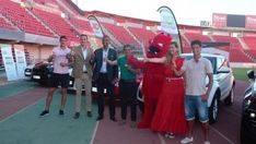 El Real Mallorca ya pasea sus coches oficiales de OK Group