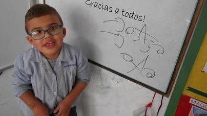 El Govern recorta el servicio de ayuda ATE al pequeño Joan Ramis