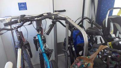 SFM transporta el doble de las bicis permitidas