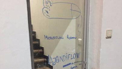 El vandalismo callejero desluce las fiestas de Felanitx