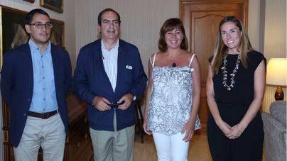 Armengol y Negueruela se han reunido con el presidente de Carrefour Property Espa�a