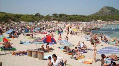 Balears rozó en julio los 13 millones de estancias en el total de la oferta