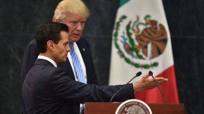 Trump reitera en México que hará construir un muro