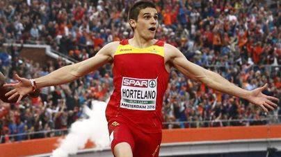 El atleta Bruno Hortelano conservará la mano tras el accidente