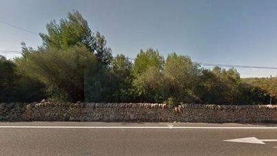 Una mujer en estado grave tras chocar el coche que conducía contra un muro en Llucmajor