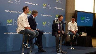 Telefónica renueva por 3 años el patrocinio del Movistar Team