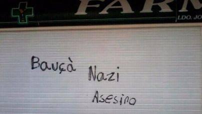 Las pintadas en la farmacia de Bauzá se saldan con una multa de 630 euros