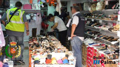 Golpe policial a la distribución de productos falsificados