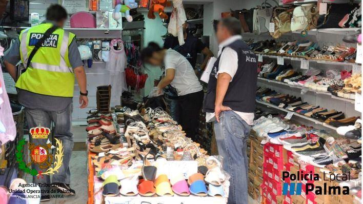 Proveedor de productos falsificados en Palma