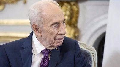 Shimon Peres se encuentra estable dentro de la gravedad