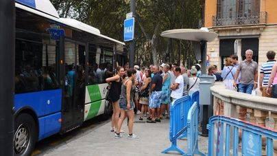 El uso del bus en Palma sube un 2,5% en lo que va de año