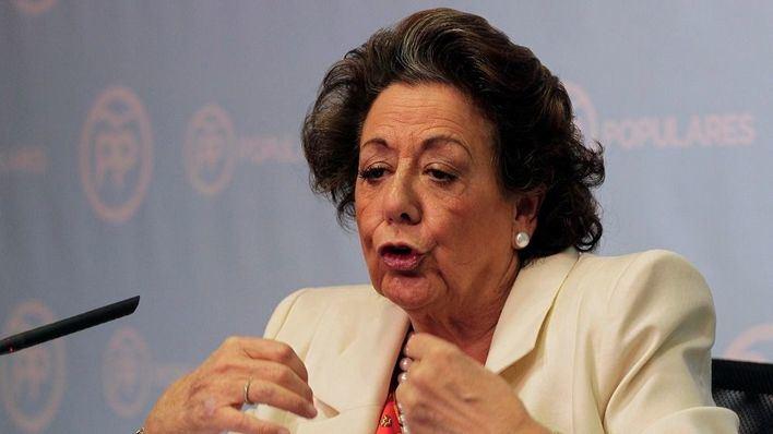 Rita Barberá se borra del PP pero no del Senado