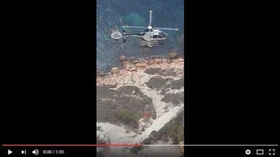 La Guardia Civil recupera el cuerpo del presunto asesino de su ex en Eivissa