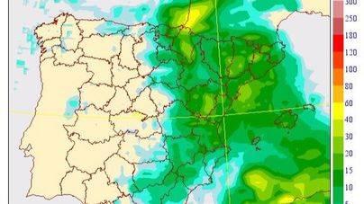 Mallorca está en alerta amarilla por lluvias muy fuertes