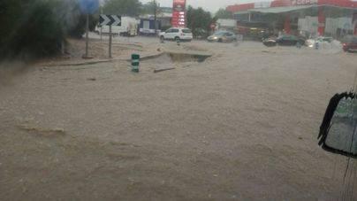 El 112 ha atendido 14 incidentes provocados por las tormentas