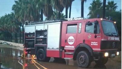 La lluvia provoca 40 incidentes en Mallorca
