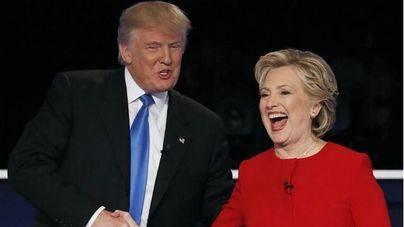 Los ataques marcan el primer debate entre Clinton y Trump