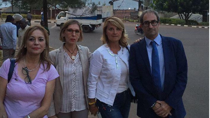 Eurodiputados españoles promueven la ayuda a una presa política ruandesa