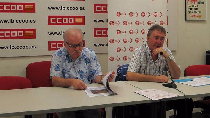 Ginés Díez y Antonio Copete