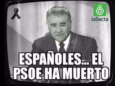 El PSOE ha muerto