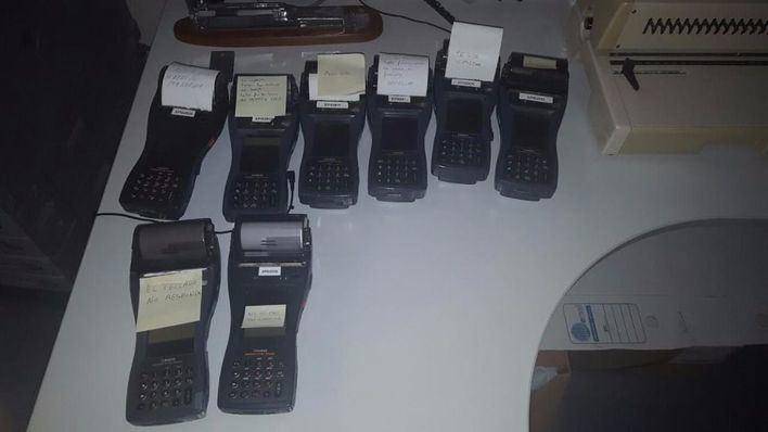 Aunque en la imagen hay ocho  el comité asegura que hay diez sin poder funcionar