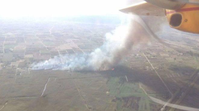 Estabilizado el incendio declarado en las proximidades de S'Albufera
