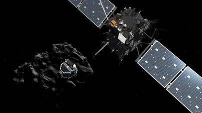 La nave espacial Rosetta se estrellará contra un cometa